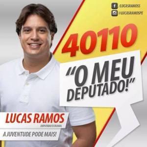 PROJETO ALTO DE SANTA TEREZINHA, APOIA LUCAS RAMOS PARA DEPUTADOS ESTADUAL OSS,